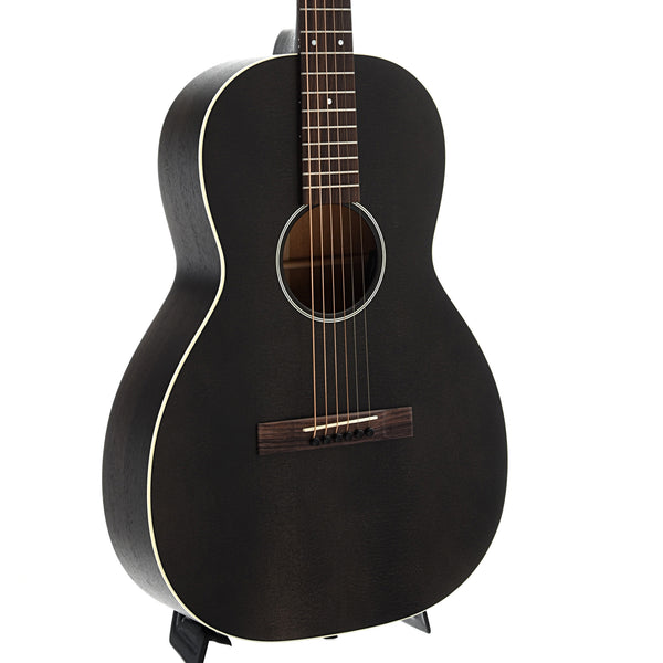 Martin 00-17SE Black Smoke Guitar with Pickup & Case