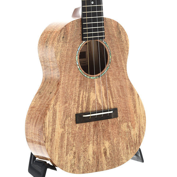 Romero Creations Grand Tenor Ukulele, Spalted Mango with Case
