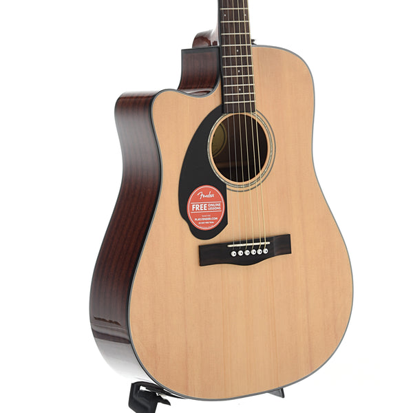 Fender CD-60SCE Left Handed Acoustic Electric Guitar