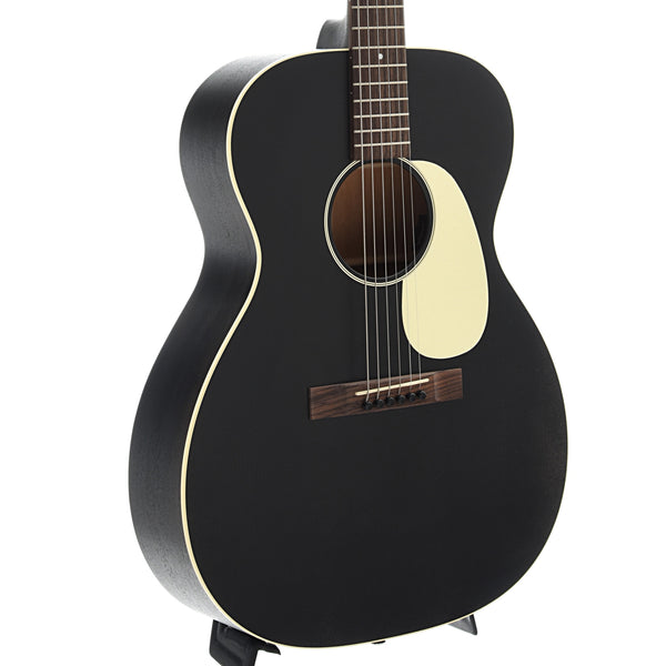 Martin 000-17E Black Smoke Guitar with Pickup & Case