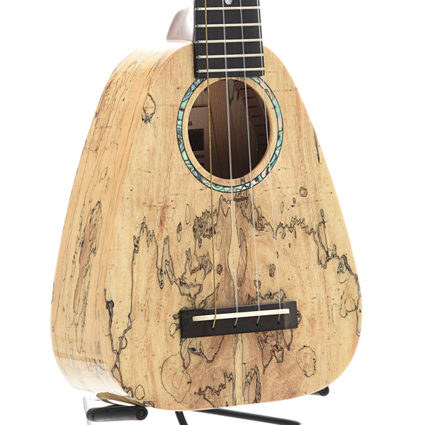 Romero Creations XS Ukulele, Spalted Mango, with Case