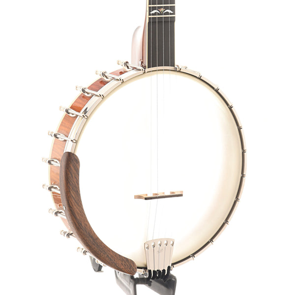 Ome Sweetgrass Openback Banjo & Case - Curly Maple