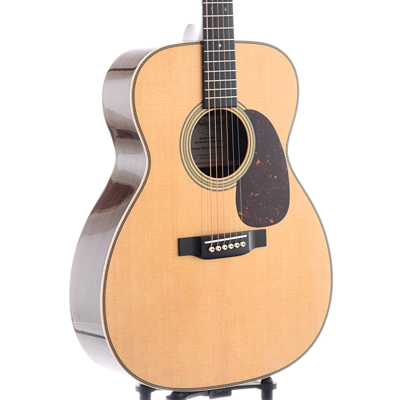 Martin Custom 28-Style M-Size (0000-Size) Guitar & Case, Wild Grain Indian Rosewood, SN2377697