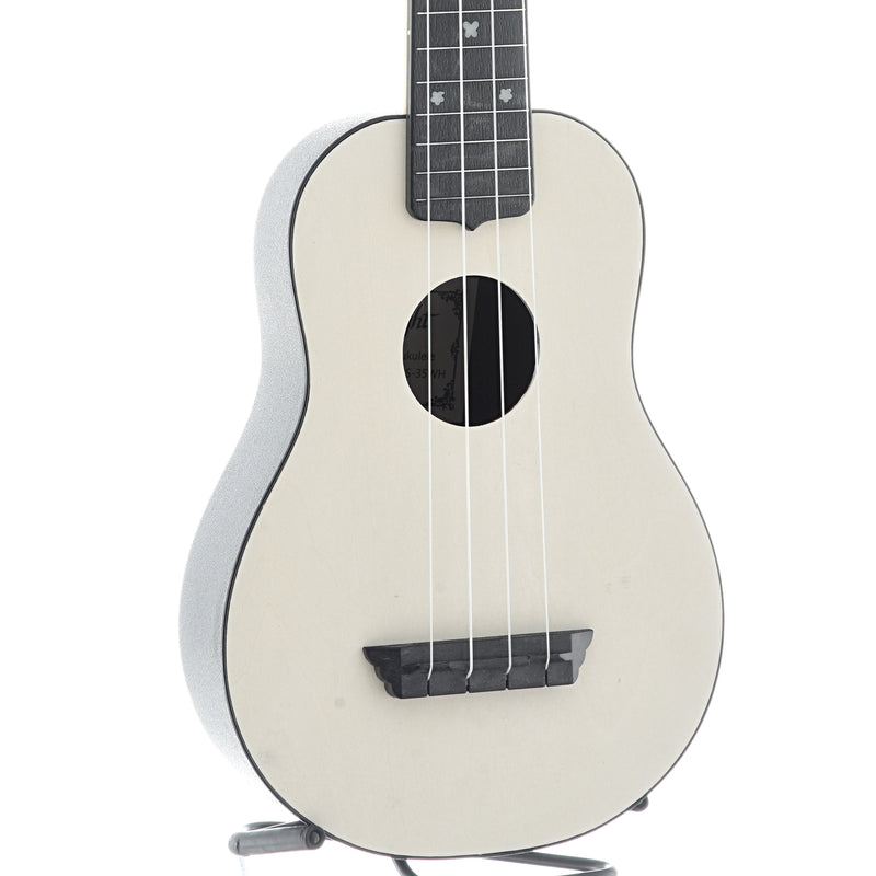 Flight TUS35 Travel Series Soprano Ukulele, White