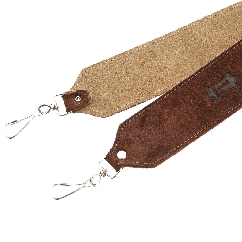 "Levy 2"" Suede Leather Banjo Strap"