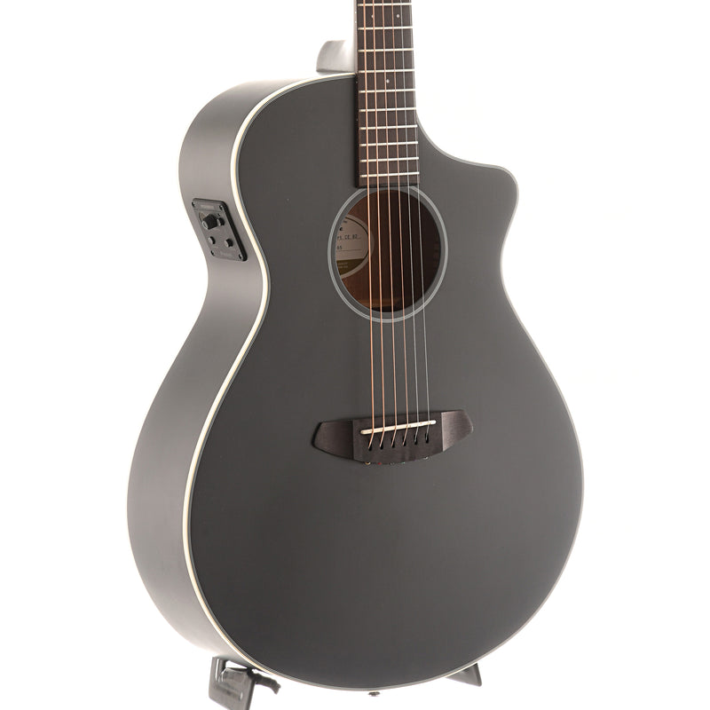 Breedlove Discovery Concert Satin Black CE Sitka-Mahogany Acoustic-Electric Guitar