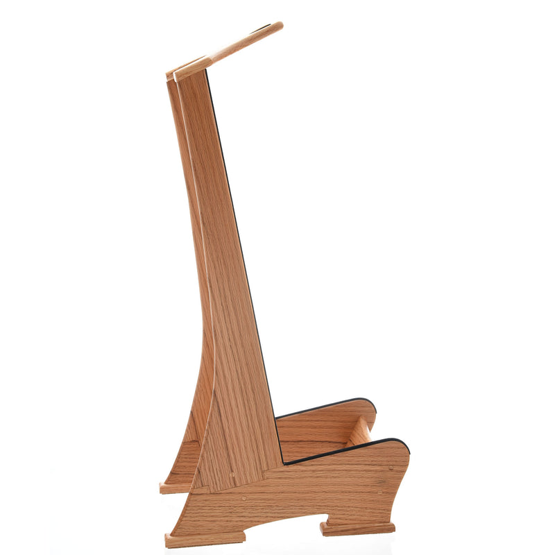 Lee Murdock Studio Guitar Stand, Red Oak