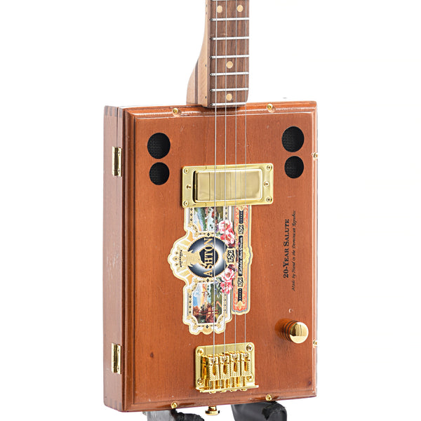 Get Down Guitars Ashton Cigar Box 4-String Electric Guitar