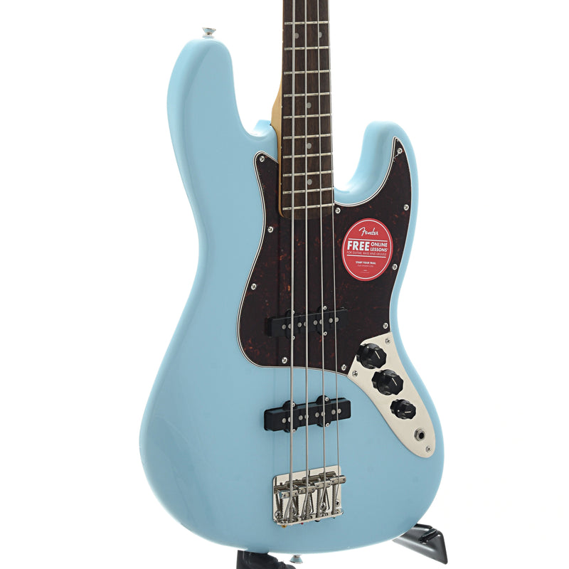 Squier Classic Vibe '60s Jazz Bass, Daphne Blue