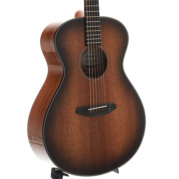 Breedlove Oregon Concert Bourbon E Myrtlewood-Myrtlewood Acoustic-Electric Guitar