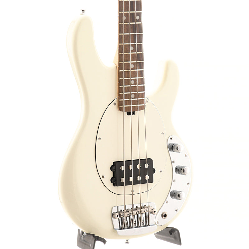 Sterling by Music Man Short Scale StingRay Bass, Olympic White