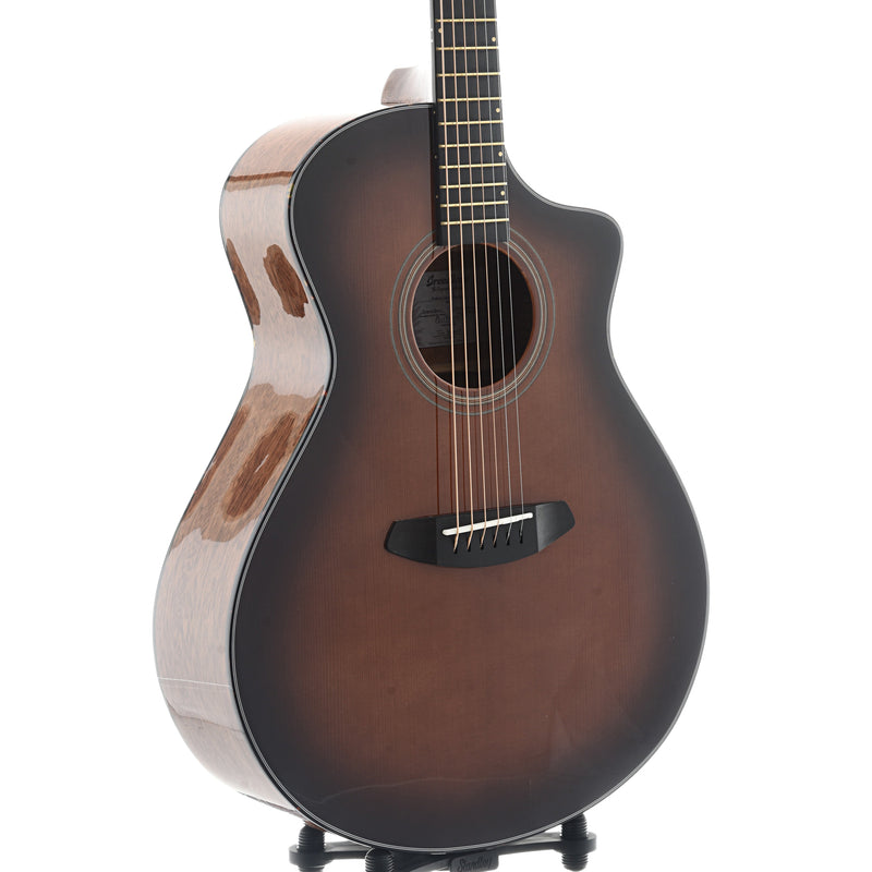 Breedlove Organic Performer Concert Bourbon CE Torrefied European - African Mahogany Acoustic-Electric Guitar