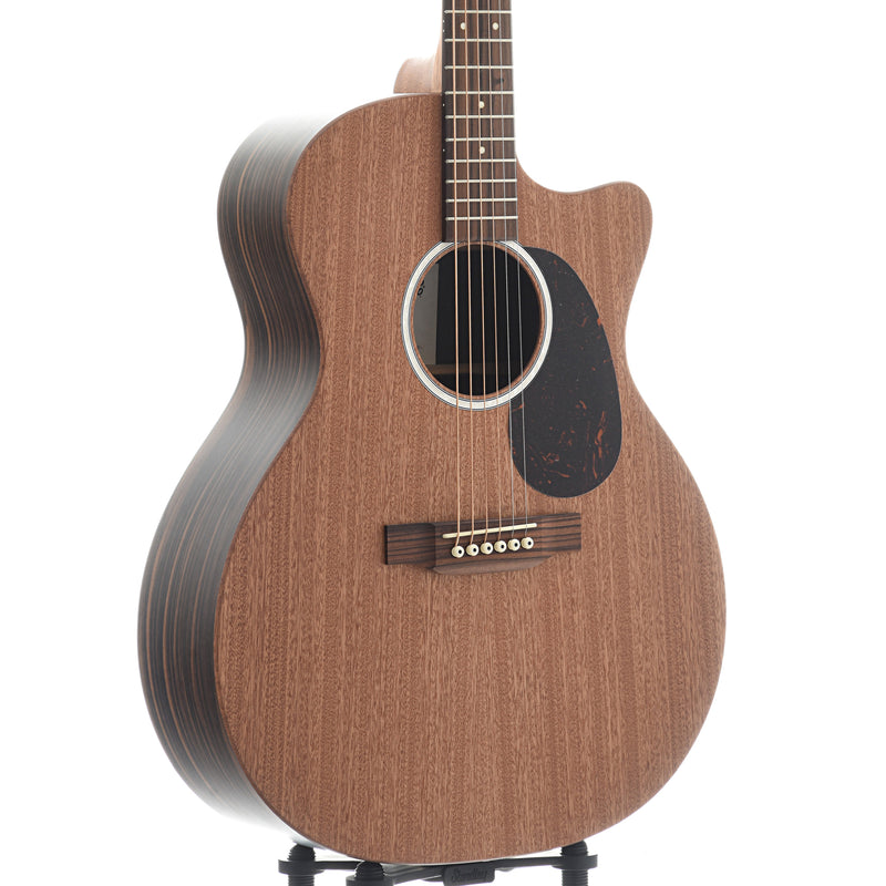 Martin GPC-X2E Cutaway guitar with Pickup & Gigbag - Macassar HPL with Solid Sapele Top