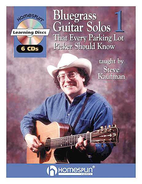 Bluegrass Guitar Solos That Every Parking Lot Picker Should Know: Series 1