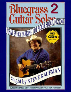 Bluegrass Guitar Solos That Every Parking Lot Picker Should Know: Series 2