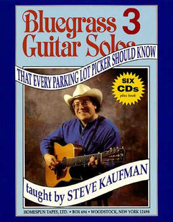 BLUEGRASS GUITAR SOLOS THAT EVERY PARKING LOT PICKER SHOULD KNOW: SERIES 3