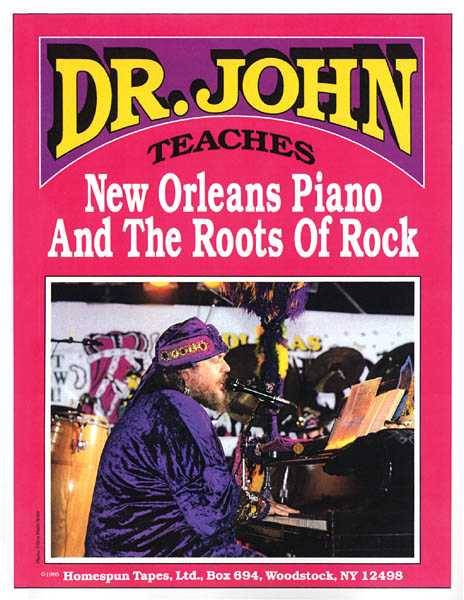 Dr.John Teaches New Orleans Piano and the Roots of Rock