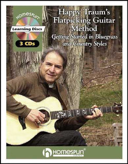 Happy Traum's Flatpicking Guitar Method - Getting Started in Bluegrass and Country Styles