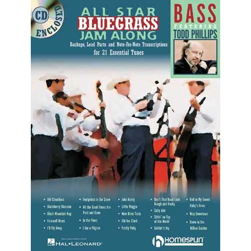 All Star Bluegrass Jam Along - Bass