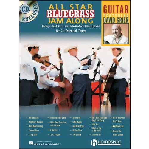 All Star Bluegrass Jam Along - Guitar