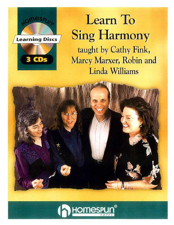 Learn to Sing Harmony: For Duet, Trio, and Quartet Singing