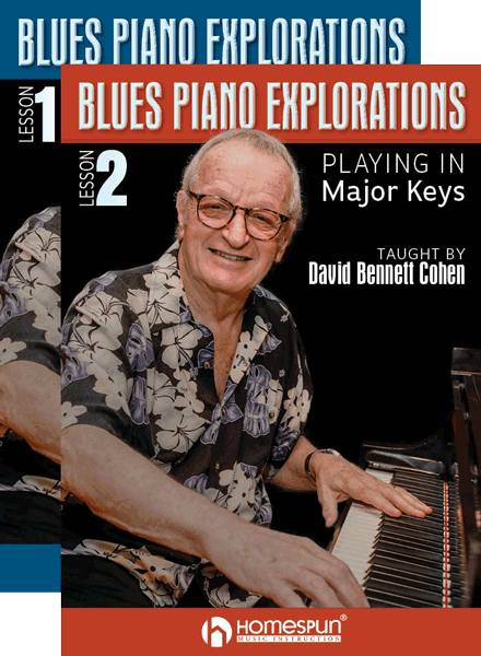 Blues Piano Explorations - Two Lesson Set: Minor and Major Blues