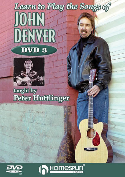 DVD - Learn to Play the Songs of John Denver: Vol. 3