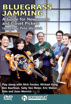 DVD - Bluegrass Jamming-A Guide for Newcomers and Closet Pickers