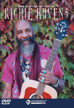 DVD-The Guitar Style of Richie Havens