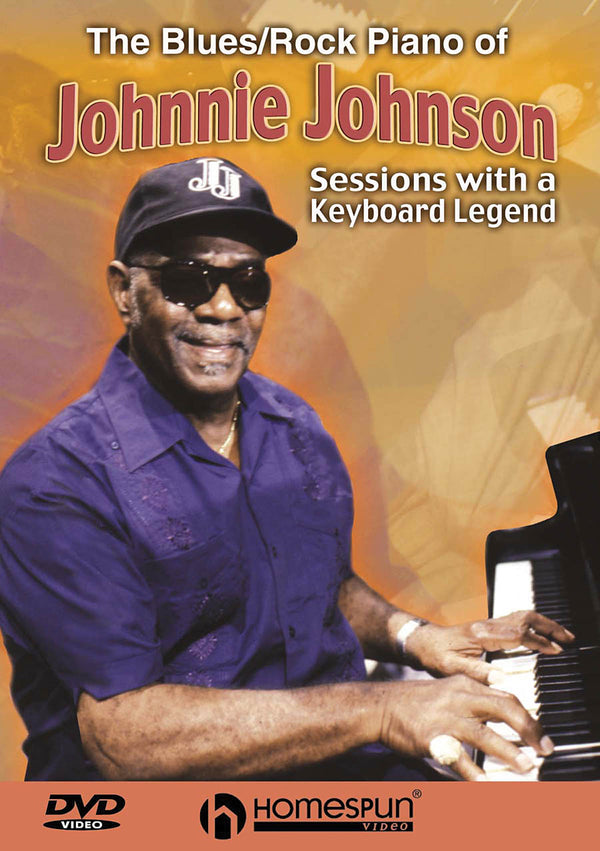 DIGITAL DOWNLOAD ONLY - The Blues/Rock Piano of Johnnie Johnson - Sessions with a Keyboard Legend