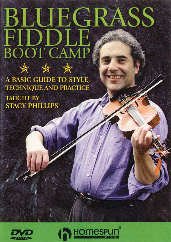 Bluegrass Fiddle Boot Camp-A Basic Guide to Style, Technique and Practice
