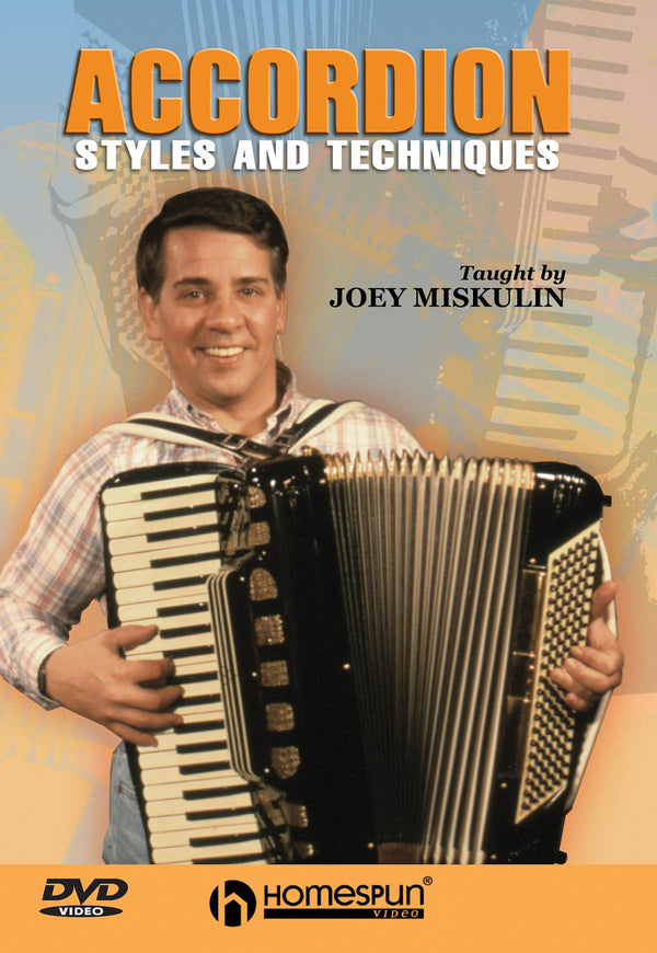 DVD - Accordion Styles and Techniques