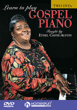 DVD - Learn to Play Gospel Piano