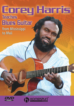 DVD - Corey Harris Teaches Blues Guitar - From Mississippi to Mali