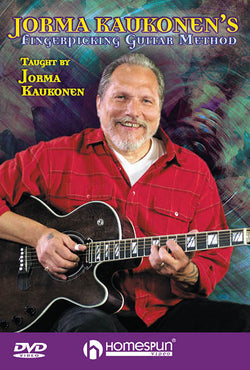 DOWNLOAD ONLY - Jorma Kaukonen's Fingerpicking Guitar Method