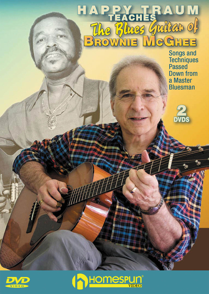 DVD - Happy Traum Teaches the Blues Guitar of Brownie McGhee