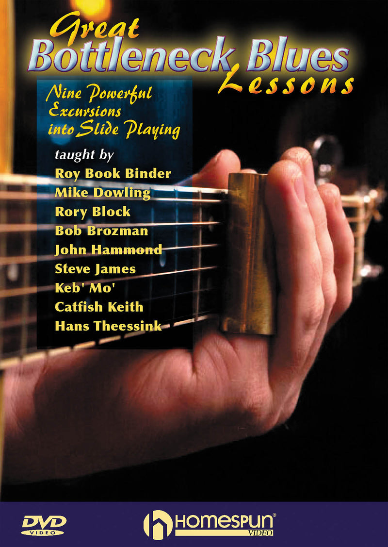 DVD - Great Bottleneck Blues Lessons