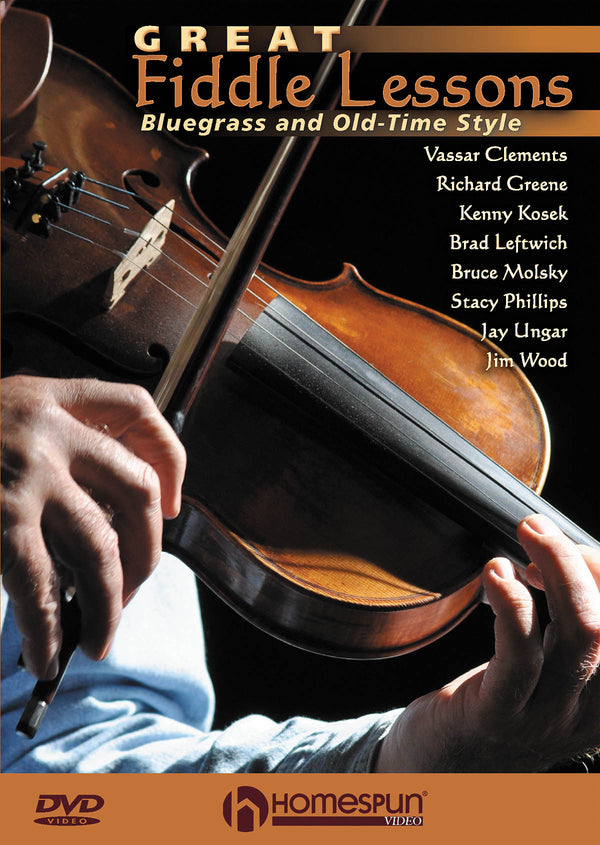 DVD - Great Fiddle Lessons - Bluegrass and Old Time Styles