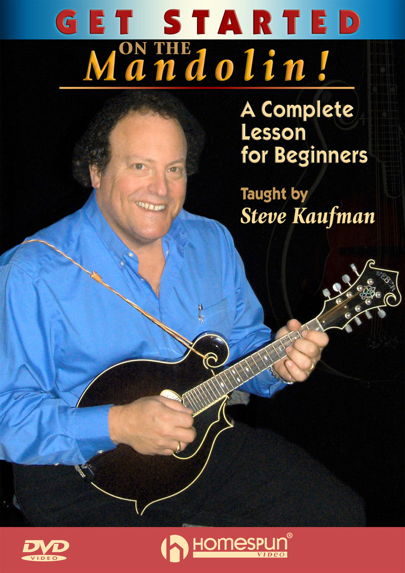 DVD - Get Started On the Mandolin!-A Complete Lesson for Beginners