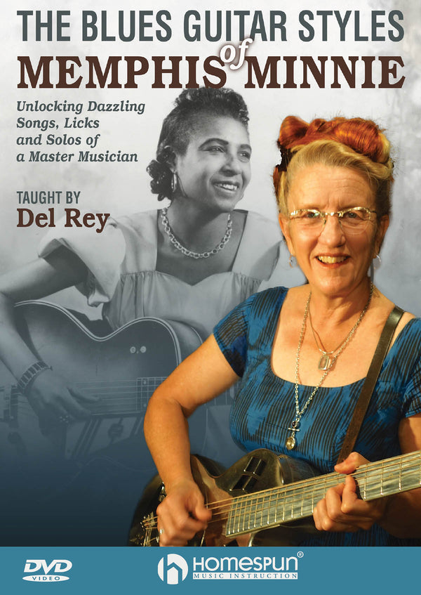DVD-The Blues Guitar Styles of Memphis Minnie