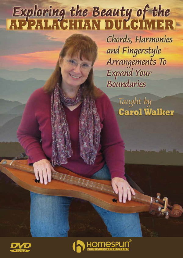 DVD - Exploring the Beauty of the Appalachian Dulcimer