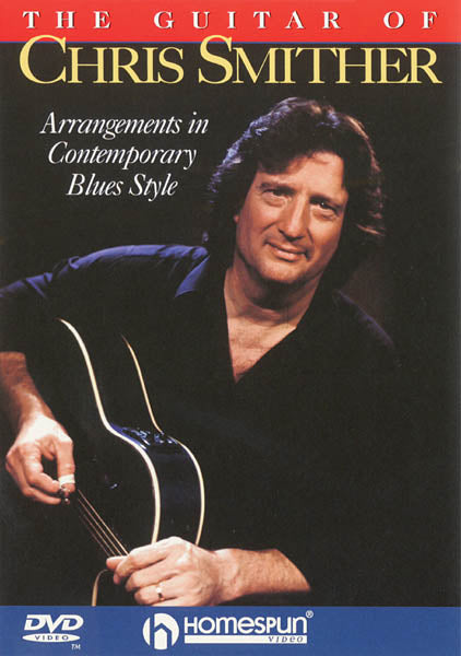 DVD-The Guitar of Chris Smither - Arrangements in Contemporary Blues Style