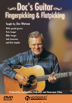 DVD - Doc's Guitar - Fingerpicking & Flatpicking