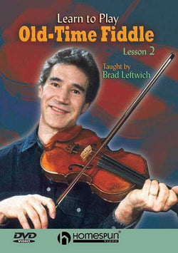 DVD - Learn to Play Old-Time Fiddle: Vol. 2