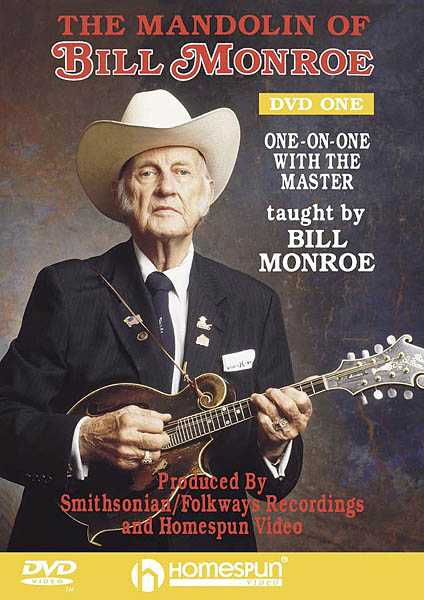 DVD-The Mandolin of Bill Monroe: Vol. 1 - One-On-One with the Master