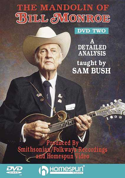 DVD-The Mandolin of Bill Monroe: Vol. 2-A Detailed Analysis