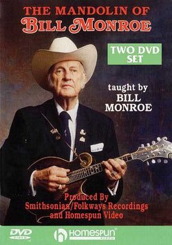DVD-The Mandolin of Bill Monroe: Two DVD Set