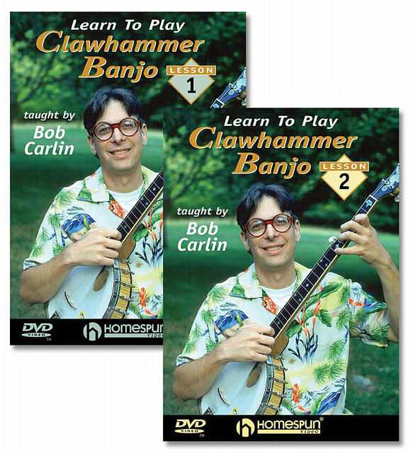DIGITAL DOWNLOAD ONLY - Learn to Play Clawhammer Banjo: Two DVD Set