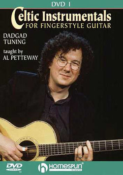 DVD - Celtic Instrumentals for Fingerstyle Guitar: Vol. 1 - DADGAD Tuning