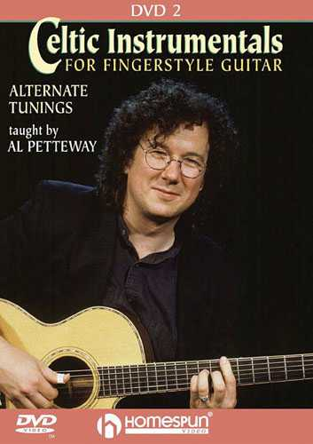 DVD - Celtic Instrumentals for Fingerstyle Guitar: Vol. 2 - Alternate Tunings